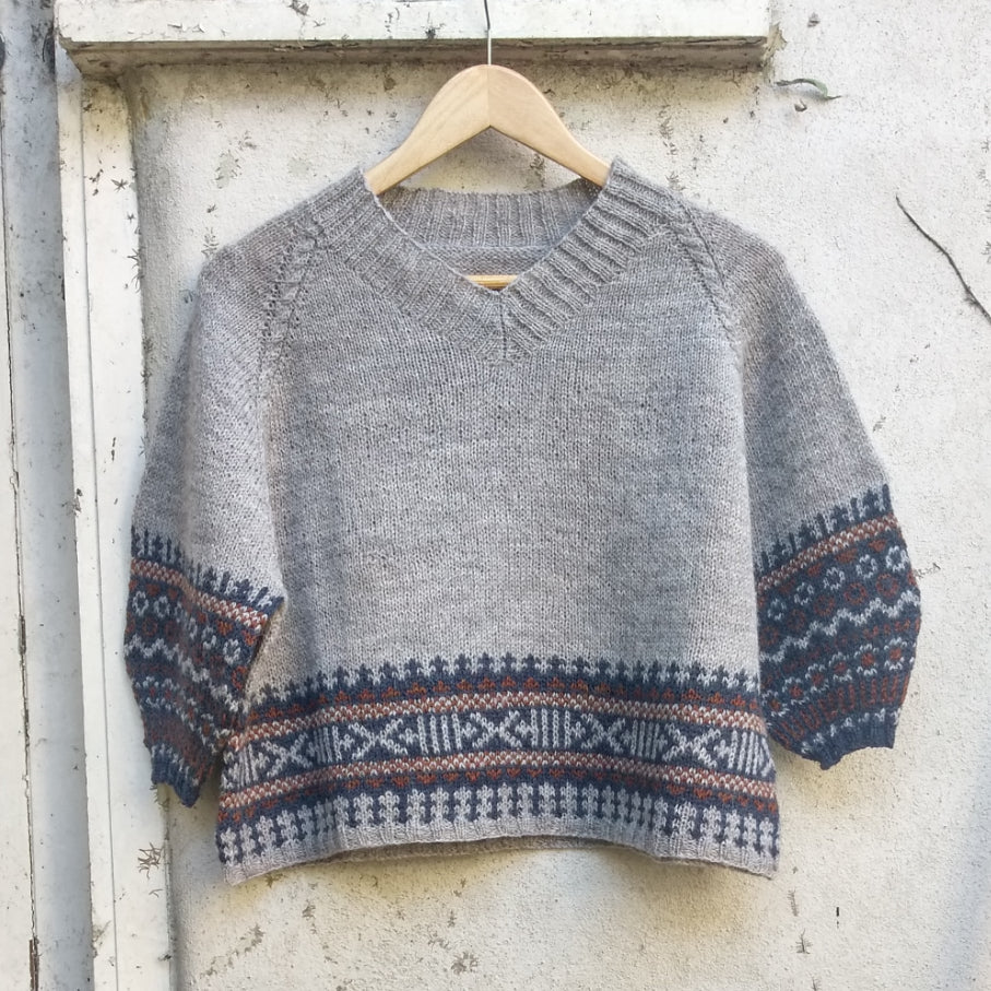 Nordiska knit in Baa Ram Ewe Pip Colourwork