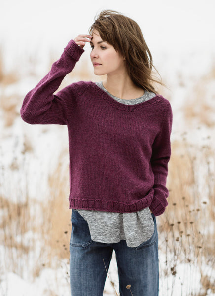 Blue Sky Fibers Cromwell Pullover