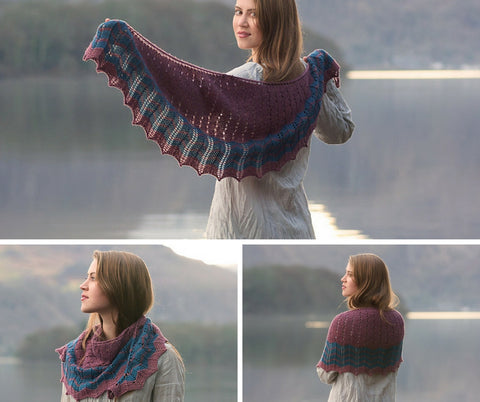 Tobermory Shawl | Helen Stewart | Waves Collection