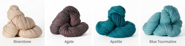 Alternative colour combination to knit Armadale in.