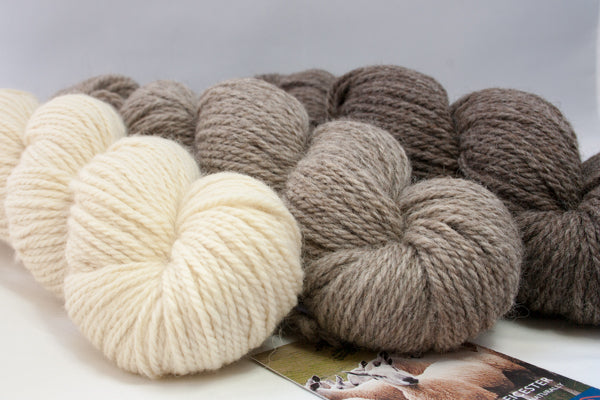 West Yorkshire Spinners, Bluefaced Leicester Natural Aran