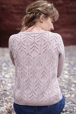Blossom Cardigan by Anna Dervout