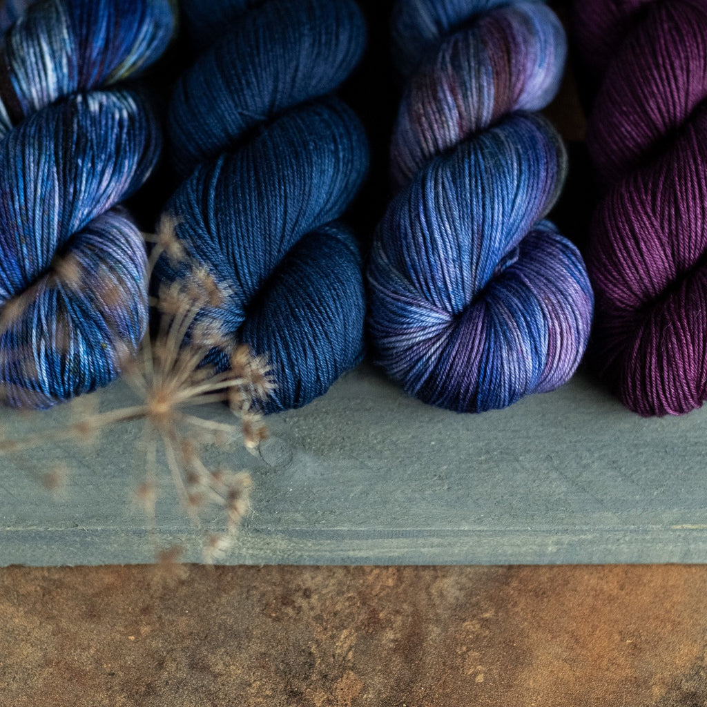 Hand-dyed Yarn from Pixie Yarn
