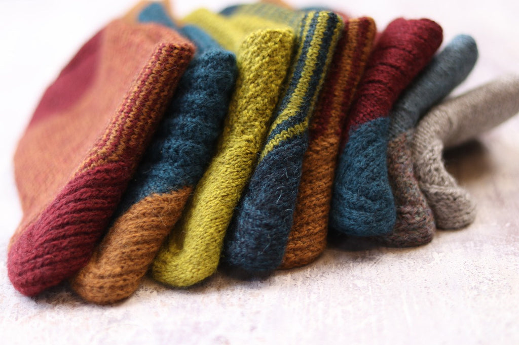 One Sock by The Fibre Co. knit in Amble
