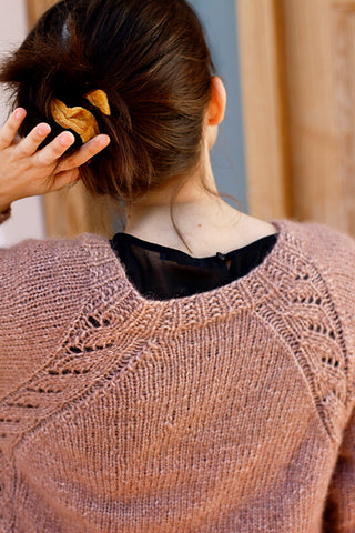 back of Kume Sweater
