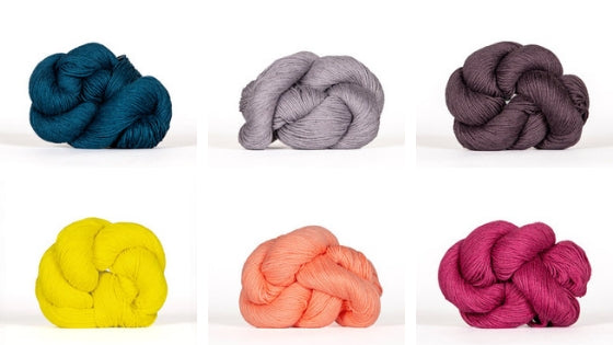 Mojave's colour palette is perfect for summer knitting