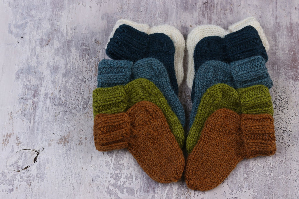 One Sock Baby knit in The Fibre Co. Cumbria