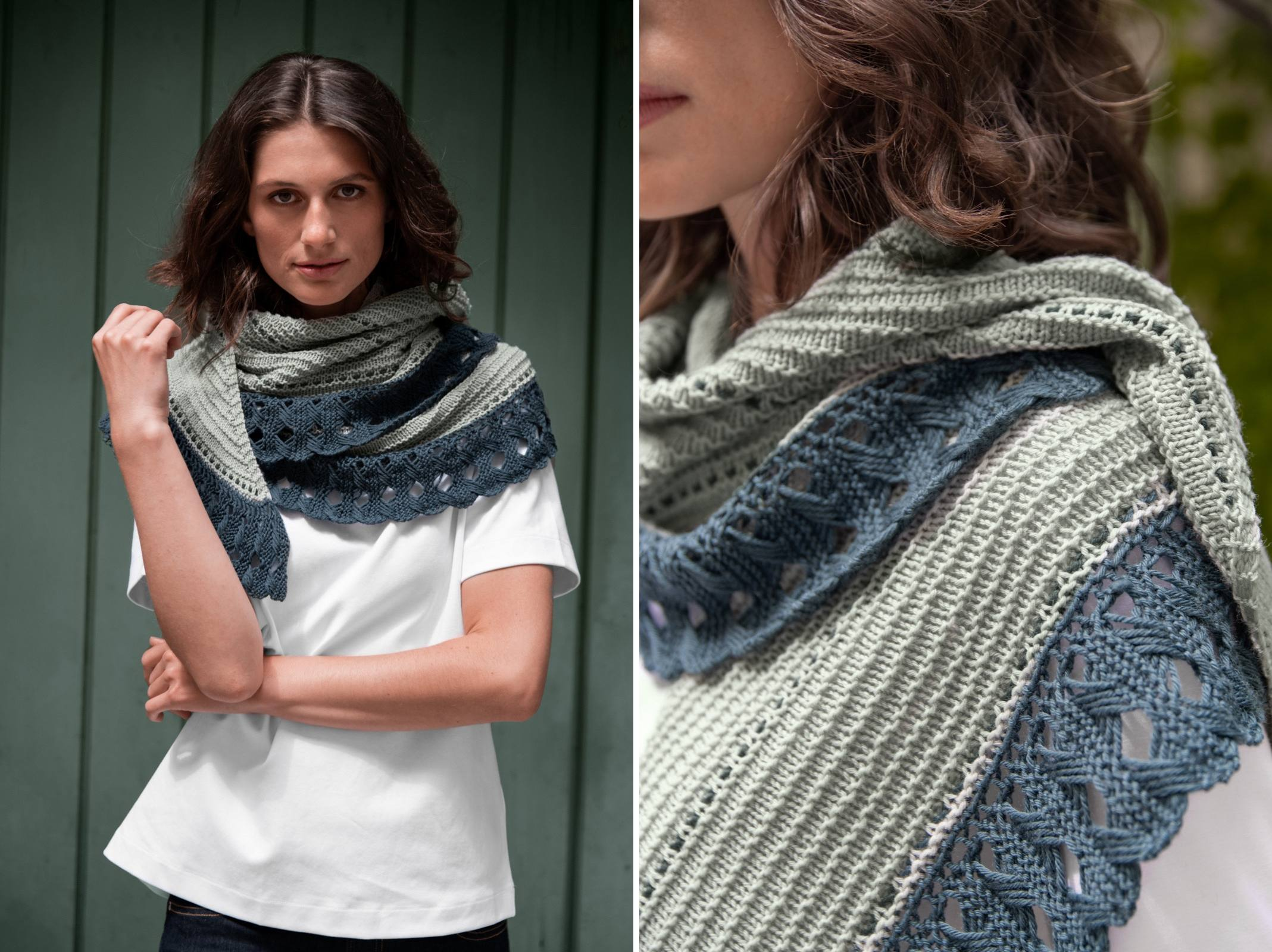 Rosemary Shawl by Matilda Kruse