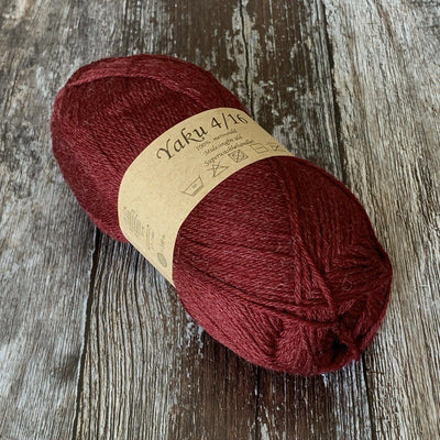 CaMaRose CaMaRose Yaku - 1279 Bordeaux - 4ply Knitting Yarn