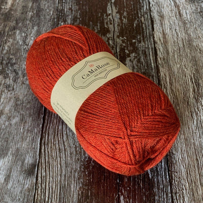 CaMaRose CaMaRose Yaku - 1809 Rod Med Orange - 4ply Knitting Yarn