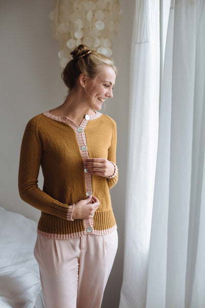 CaMaRose Winnies Cardigan [Trine Bertelsen] -  - Knitting Pattern