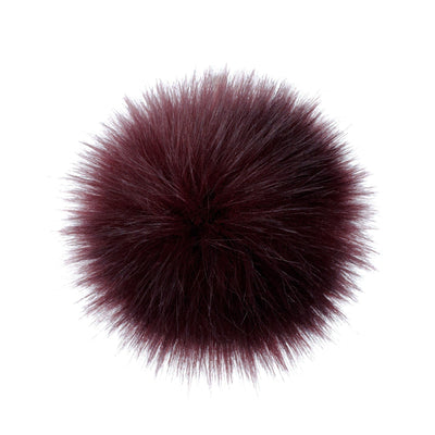 AHEADHUNTER Faux Fur Pom Pom - Fox Wine - Gifts