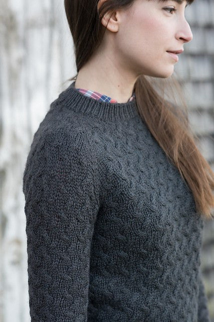 Knitbot Coastal Pullover by Hannah Fettig -  - Knitting Pattern