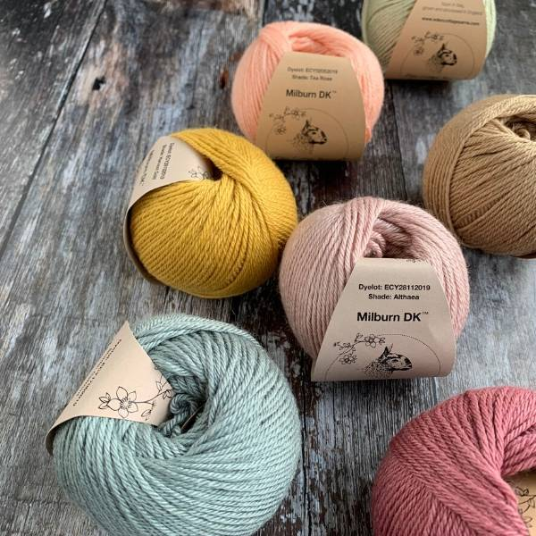 Eden Cottage Yarns Milburn DK -  - DK Knitting Yarn