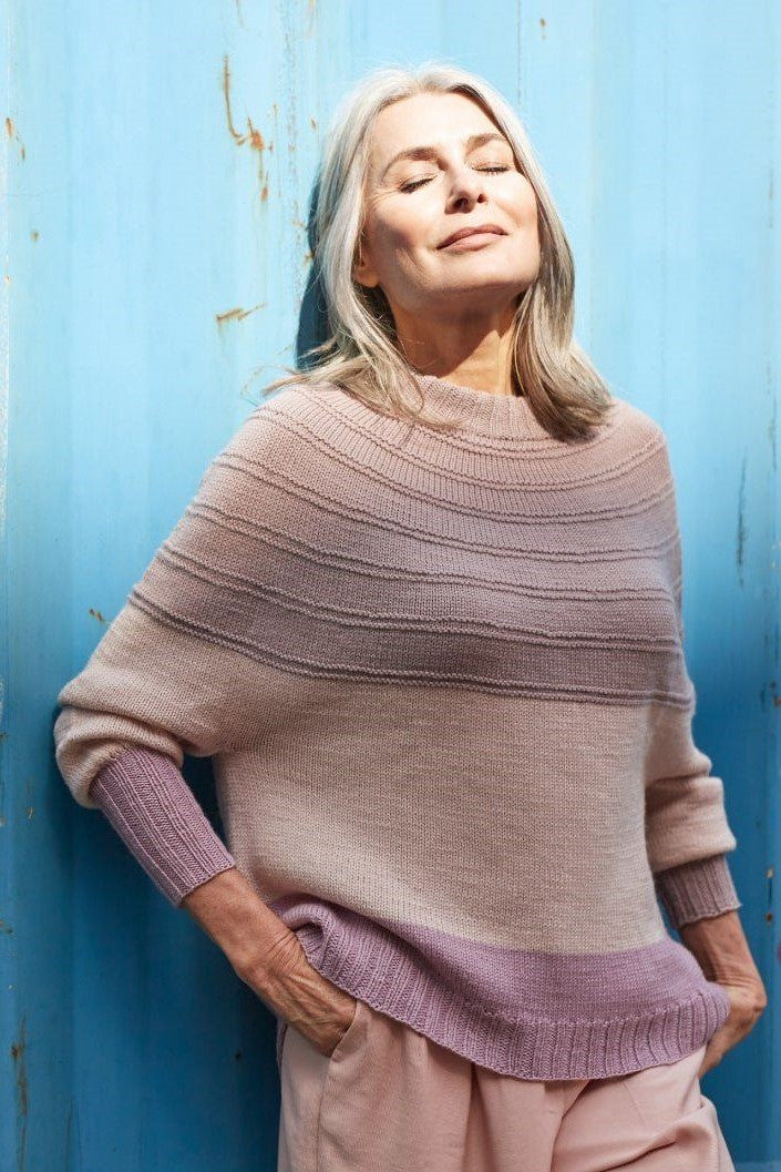 Rosy Green Wool Deleite [Knitting Pattern] -  - Knitting Pattern