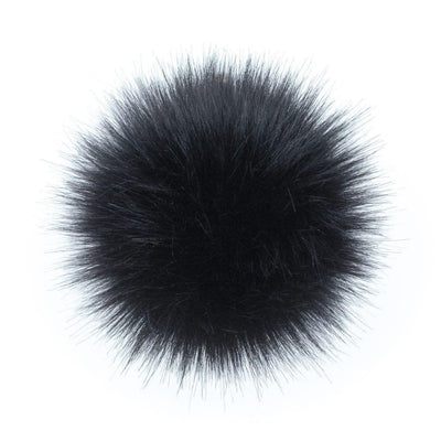 AHEADHUNTER Faux Fur Pom Pom - Fox Black - Gifts