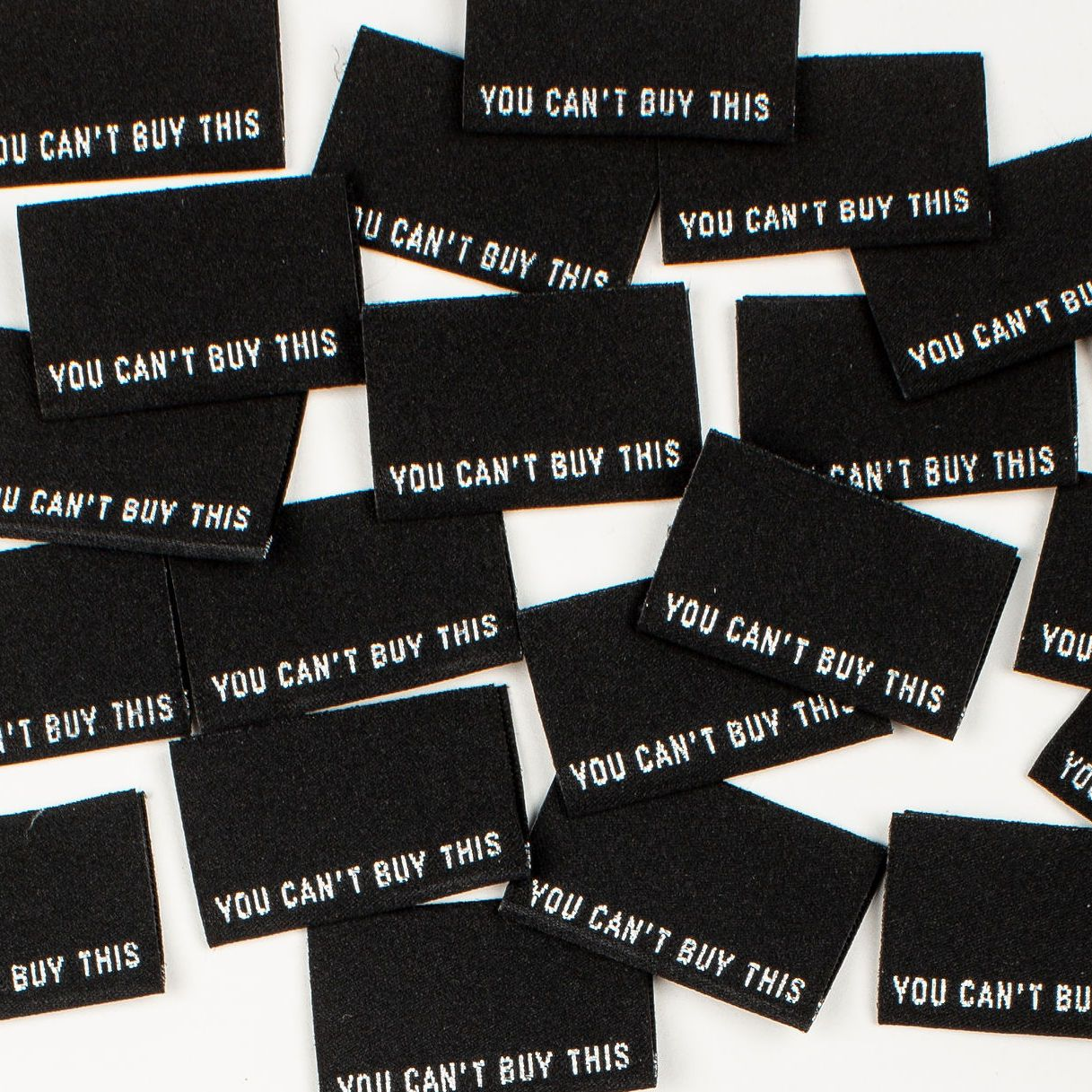 Kylie and the Machine You Can't Buy This' - Woven Label -  - Gifts