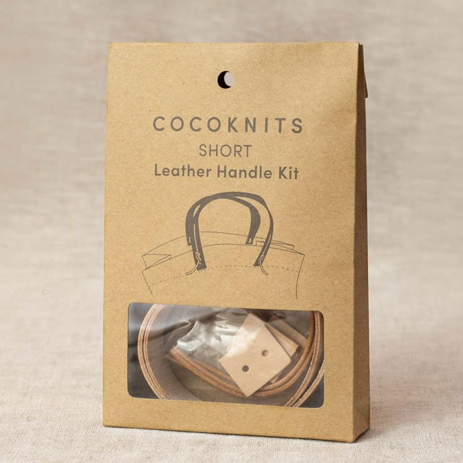 Cocoknits Short Leather Handle Kit