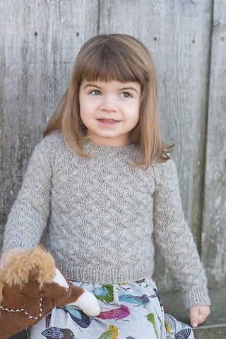 Little Coastal Pullover by Hannah Fettig -  - Knitting Pattern - Knitbot