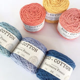 Nurturing Fibres Eco-Cotton -  - DK Knitting Yarn - Nurturing Fibres