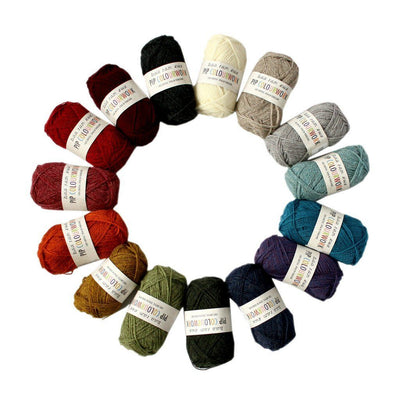 Baa Ram Ewe Pip Colourwork -  - 4ply Knitting Yarn