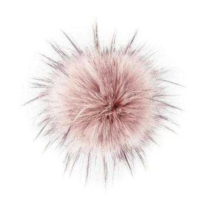AHEADHUNTER Faux Fur Pom Pom - Raccoon Quartz - Gifts