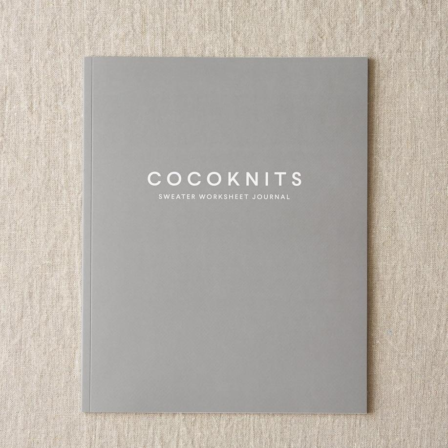 Cocoknits Cocoknits Sweater Worksheet Journal -  - Tools