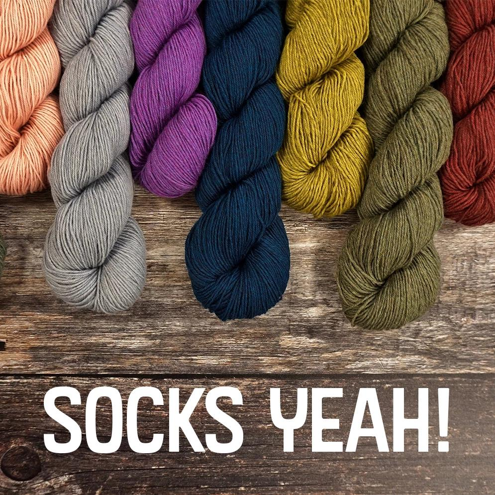 Coop Knits Socks Yeah! -  - 4ply Knitting Yarn