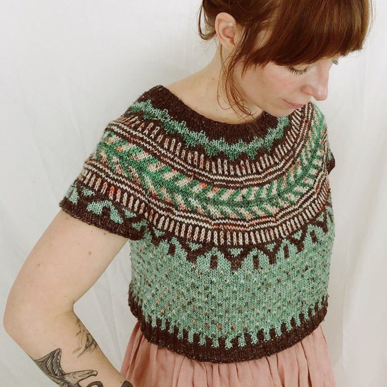 Boyland Knitworks Soldotna Crop [Boyland Knitworks] -  - Knitting Pattern