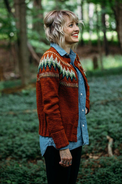 Andrea Mowry The Throwback [Andrea Mowry] -  - Knitting Pattern