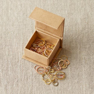 Cocoknits Cocoknits Precious Metal Stitch Markers -  - Tools