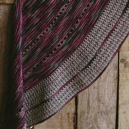 Doris Shawl [Kat Goldin] -  - Crochet Pattern - The Crochet Project