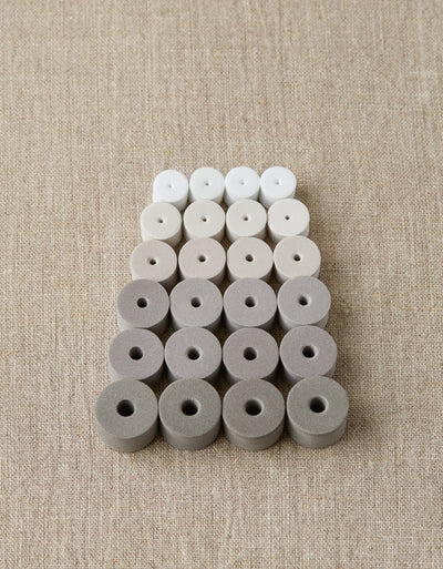 Cocoknits Cocoknits Mixed Stitch Stoppers - Greys - Tools