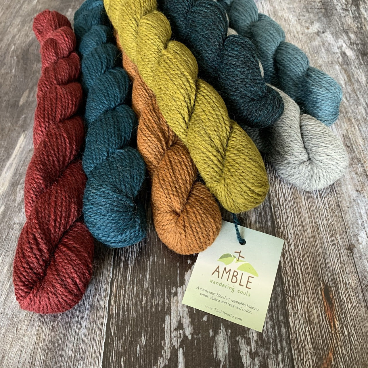 The Fibre Co. The Fibre Co. Amble Minis -  - 4ply Knitting Yarn