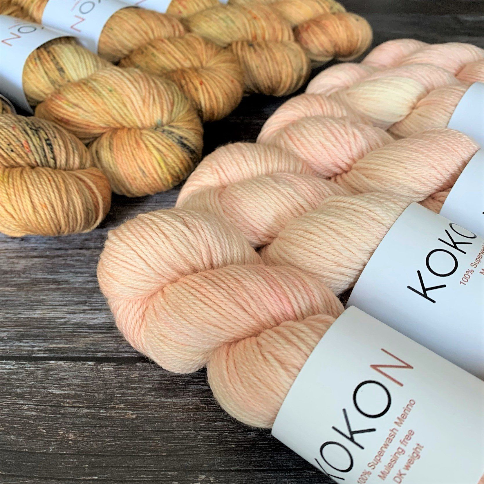 Kokon Yarn Kokon Hand Painted Merino DK -  - DK Knitting Yarn