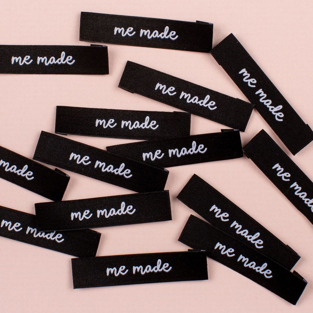 Kylie and the Machine 'Me Made' Woven Label -  - Gifts