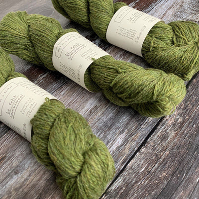 Biches & Bûches Le Petit Lambswool - Medium Green Grey - 4ply Knitting Yarn
