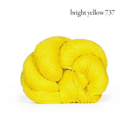 Kelbourne Woolens Mojave - Bright Yellow (737) - Sport Weight Yarn