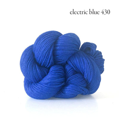 Kelbourne Woolens Mojave - Electric Blue (430) - Sport Weight Yarn