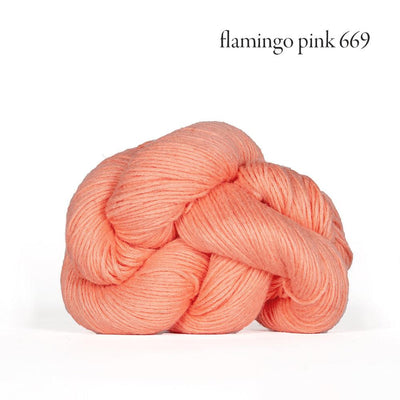 Kelbourne Woolens Mojave - Flamingo Pink (669) - Sport Weight Yarn