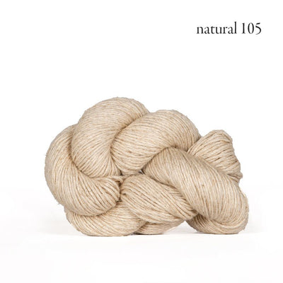 Kelbourne Woolens Mojave - Natural (105) - Sport Weight Yarn