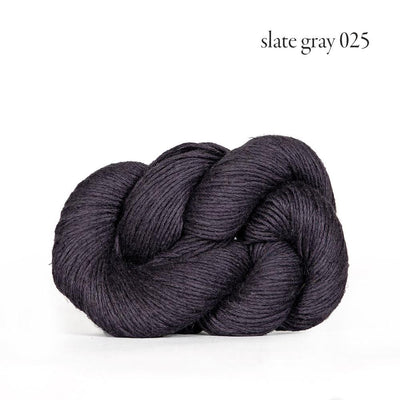 Kelbourne Woolens Mojave - Slate Gray (025) - Sport Weight Yarn