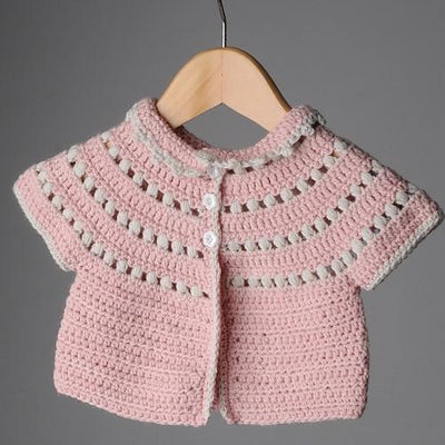 Mrs Moon Molly Cardigan [Crochet Pattern] -  - Crochet Pattern