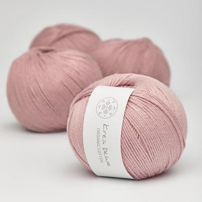 Krea Deluxe Krea Deluxe Organic Cotton - No. 12 - 4ply Knitting Yarn