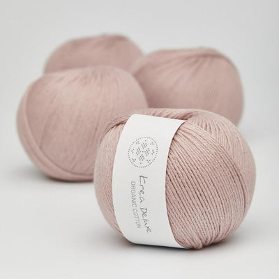 Krea Deluxe Krea Deluxe Organic Cotton - No. 14 - 4ply Knitting Yarn