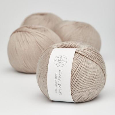Krea Deluxe Krea Deluxe Organic Cotton - No. 18 - 4ply Knitting Yarn