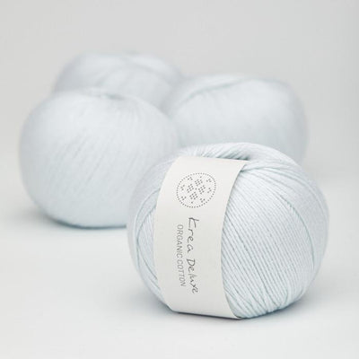 Krea Deluxe Krea Deluxe Organic Cotton - No. 20 - 4ply Knitting Yarn