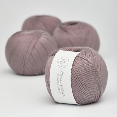 Krea Deluxe Krea Deluxe Organic Cotton - No. 44 - 4ply Knitting Yarn