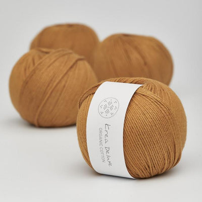 Krea Deluxe Krea Deluxe Organic Cotton - No. 9 - 4ply Knitting Yarn
