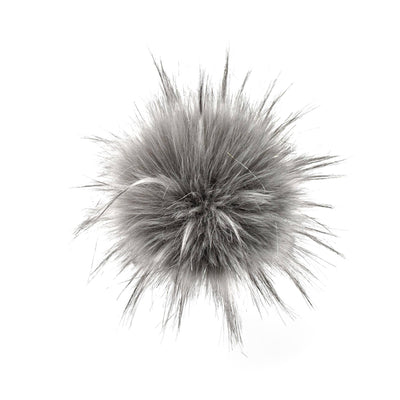 AHEADHUNTER Faux Fur Pom Pom - Raccoon Lurex - Gifts